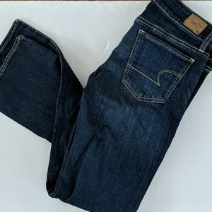 American Eagle straight jeans size 4